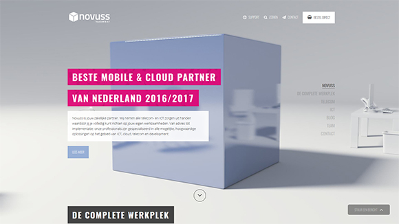 Novuss Website